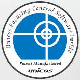 Autorefraktometr UNICOS URK-700 - logo funkcji kompensacji rozpoczęcia pomiaru na niewyostrzonym obrazie