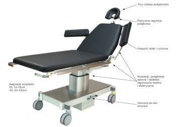 Mobilny stół operacyjny SB 5010 ES/HS