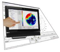 Foto: Perymetr Statyczny i Kinetyczny AP-300 - ekran dotykowy
